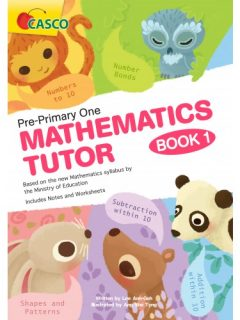 pre-primary one mathematic tutor book 1 cover-500x500