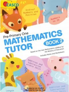 pre-primary one mathematic tutor book 2 cover-248x349